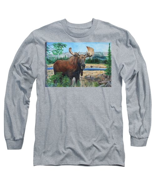 Mr. Majestic Long Sleeve T-Shirt