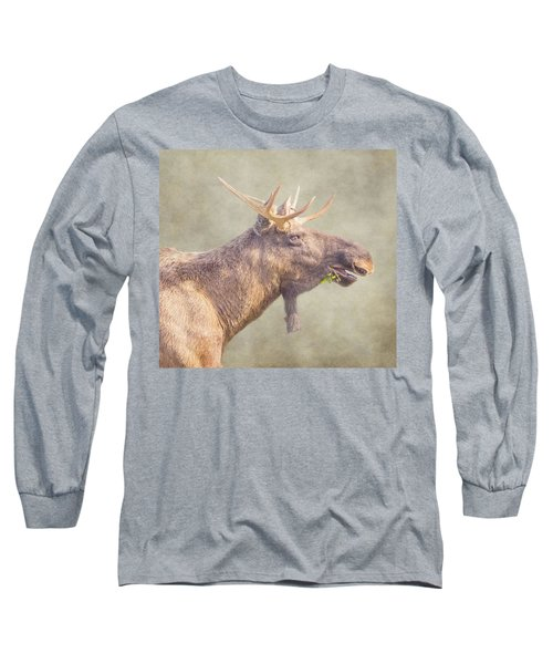 Mr Moose Long Sleeve T-Shirt by Roy McPeak