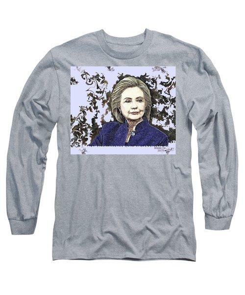 Mrs Hillary Clinton Long Sleeve T-Shirt