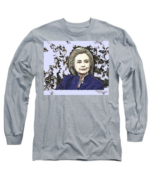 Mrs Hillary Clinton Long Sleeve T-Shirt