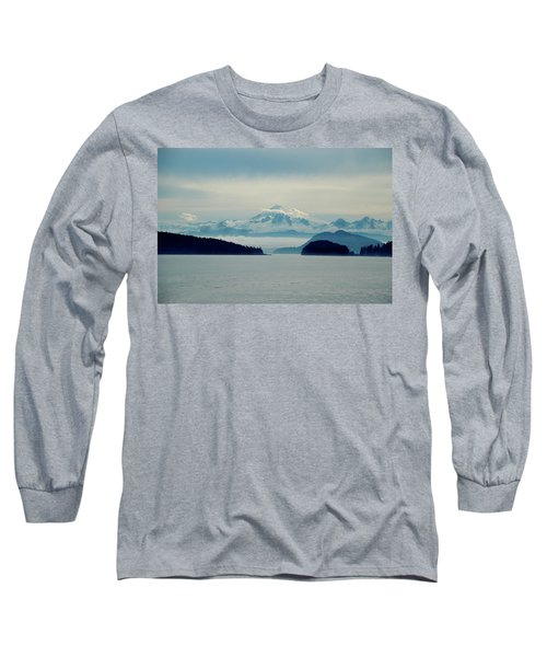 Mt. Baker Washington Long Sleeve T-Shirt