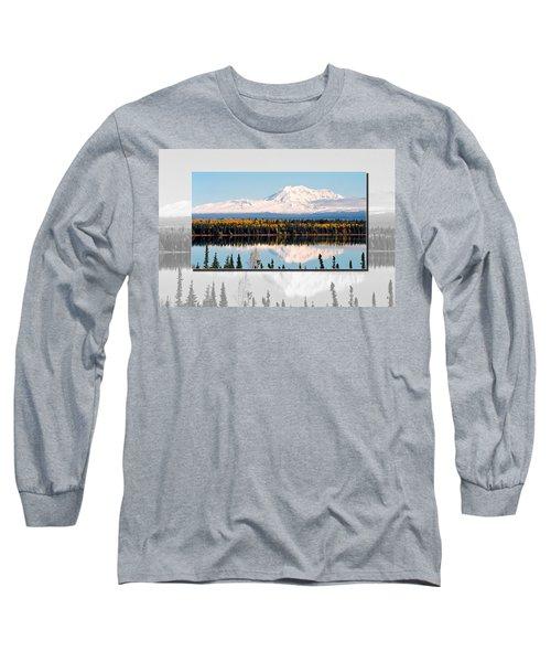 Long Sleeve T-Shirt featuring the photograph Mt. Drum - Alaska by Juergen Weiss