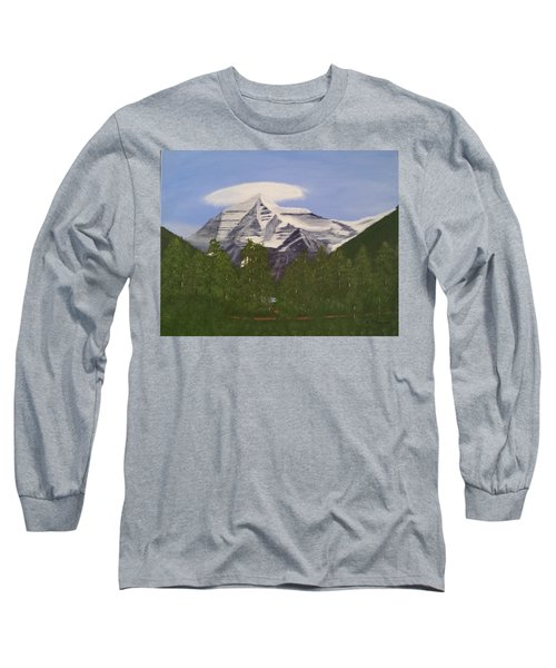 Mt. Robson, Bc Long Sleeve T-Shirt