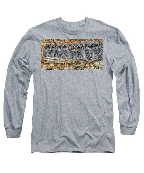 Mt. Rushmore Mimics Long Sleeve T-Shirt
