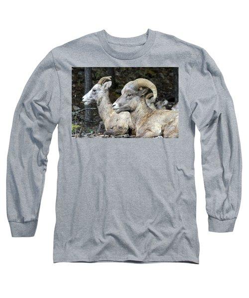 Mt Sheep  Long Sleeve T-Shirt