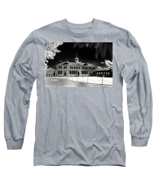 Mt Vernon Long Sleeve T-Shirt by Paul Seymour