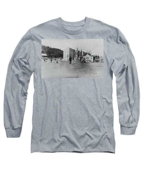Long Sleeve T-Shirt featuring the photograph Mt. Washington Church  by Cole Thompson