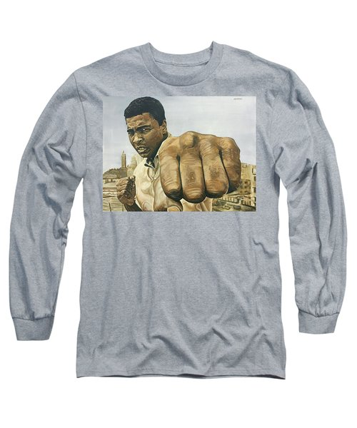 Muhammad Ali Long Sleeve T-Shirt