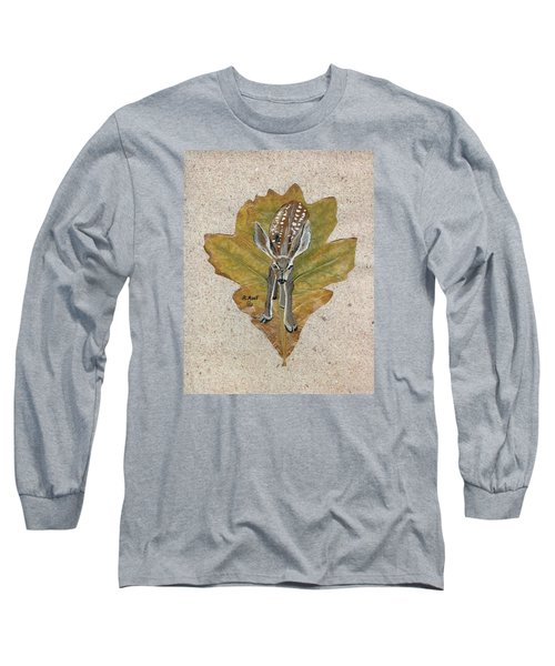 Mule Dear Fawn Long Sleeve T-Shirt by Ralph Root