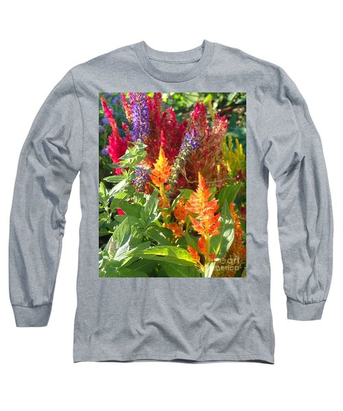 Multi-color Energy Long Sleeve T-Shirt