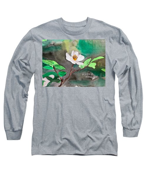 Multiflora Rosa Long Sleeve T-Shirt