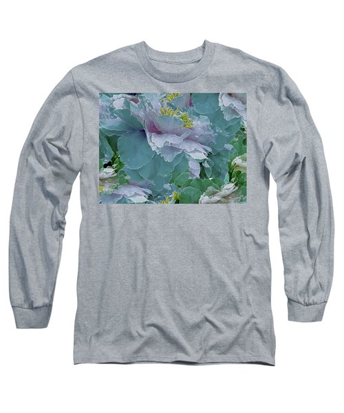 Multiplicity 23 Long Sleeve T-Shirt by Lynda Lehmann