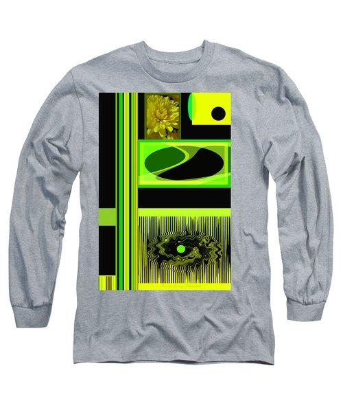 Mum Abstract 5 Long Sleeve T-Shirt by Brooks Garten Hauschild