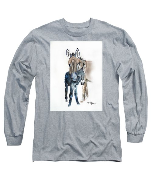 Mummy Donkey Long Sleeve T-Shirt
