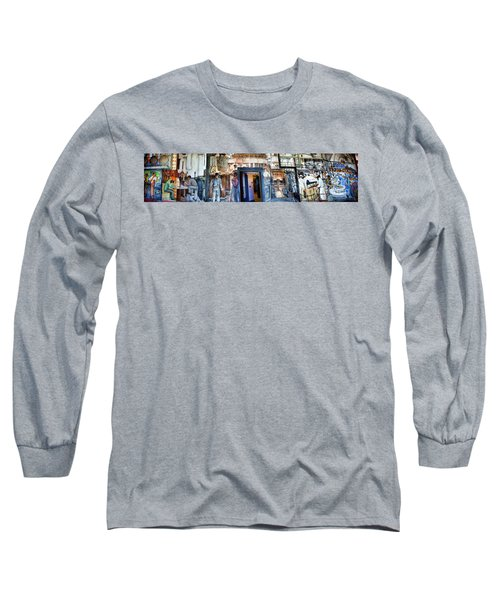 Mural Coit Tower Interior Panorama  Long Sleeve T-Shirt