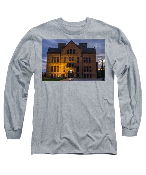 Museum Long Sleeve T-Shirt by Jerry Cahill