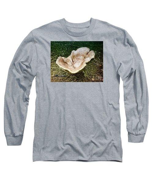 Mushroom  1 Long Sleeve T-Shirt by Melissa Messick
