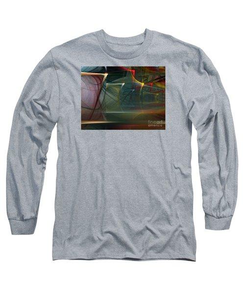 Long Sleeve T-Shirt featuring the digital art Music Sound by Karin Kuhlmann