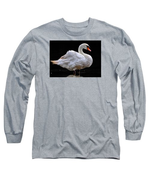 Mute Swan 3 Long Sleeve T-Shirt by Brian Stevens