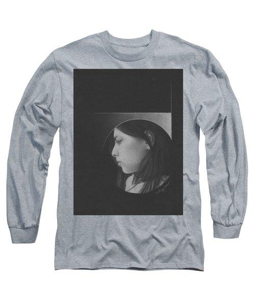 Muted Shadow No. 1 Long Sleeve T-Shirt