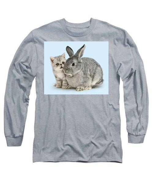 My Bunny Little Friend Long Sleeve T-Shirt