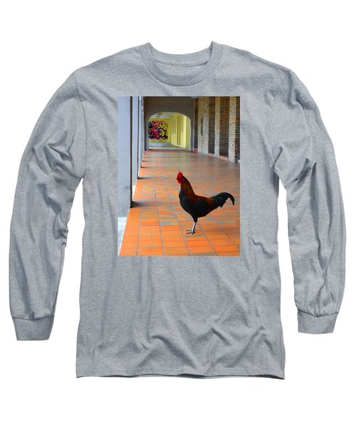 My Colonnade Long Sleeve T-Shirt by Richard Ortolano