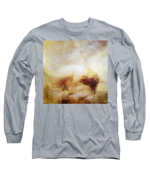 My Dreams Fly Away Long Sleeve T-Shirt by Gun Legler
