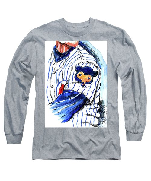 My Favorite Chicago Cub Long Sleeve T-Shirt