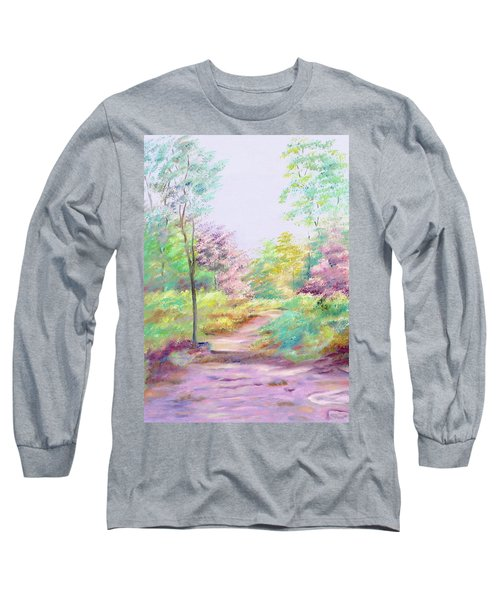 My Favourite Place Long Sleeve T-Shirt by Elizabeth Lock