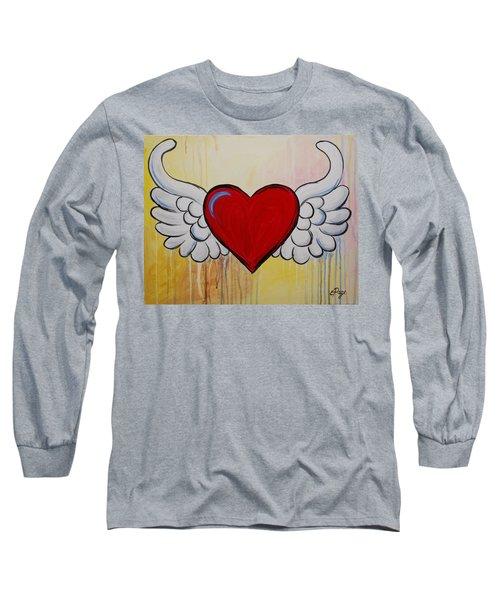 My Heart Has Wings Long Sleeve T-Shirt