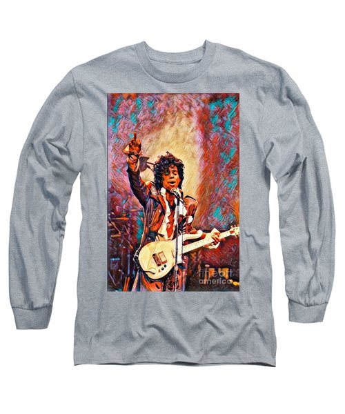 My Name Is    -  Prince Long Sleeve T-Shirt
