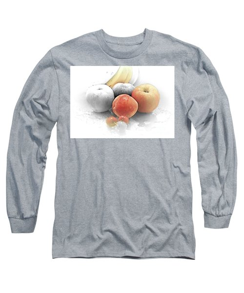 My Painting  A Work In Process Long Sleeve T-Shirt