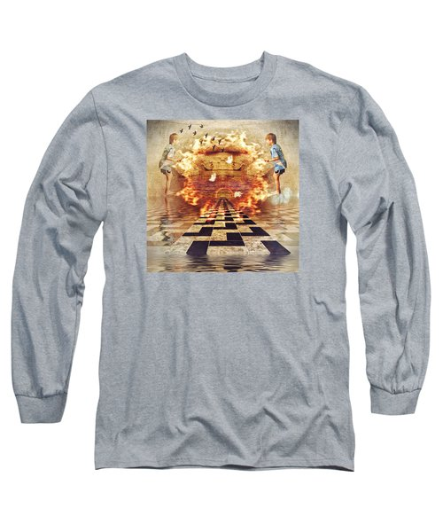 My Shadow's Reflection II Long Sleeve T-Shirt