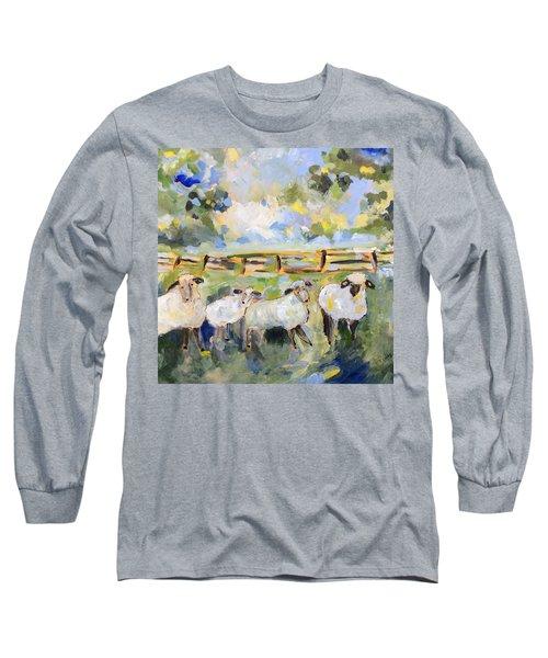 My Sheep Will Follow Me Long Sleeve T-Shirt