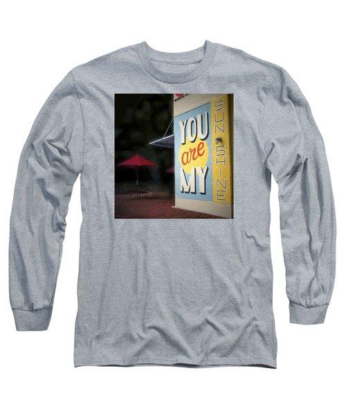 My Sunshine Long Sleeve T-Shirt by Glenn Gemmell