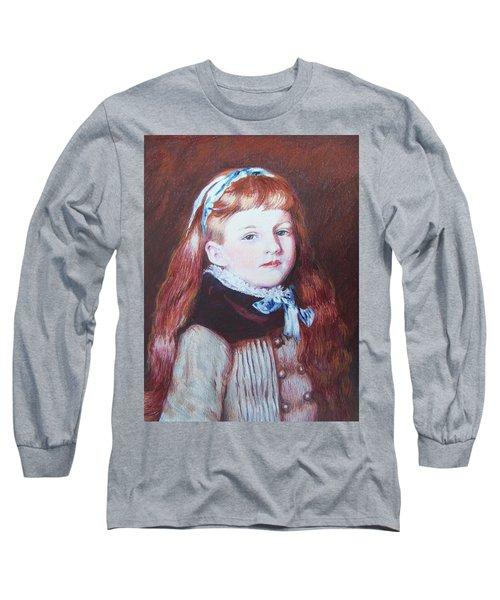 My Version Of A Renoir Long Sleeve T-Shirt by Constance DRESCHER