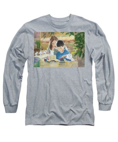 My Work Long Sleeve T-Shirt by Marilyn Jacobson
