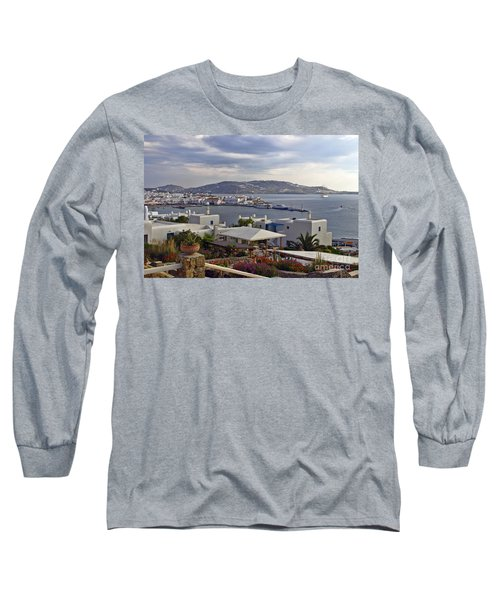 Mykonos View Long Sleeve T-Shirt