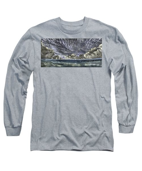 Myrtle Beach Hand Tinted Panorama Sunrise Long Sleeve T-Shirt