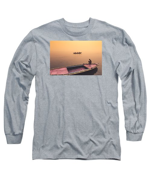 Mystic Ganges Long Sleeve T-Shirt