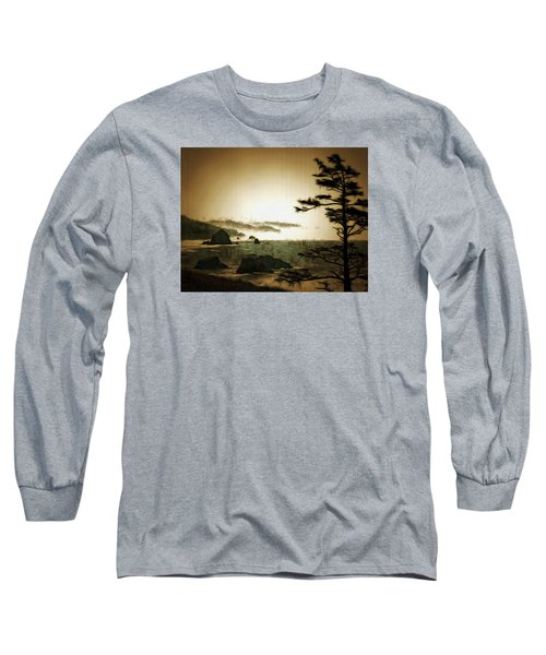 Mystic Landscapes Long Sleeve T-Shirt by Mario Carini