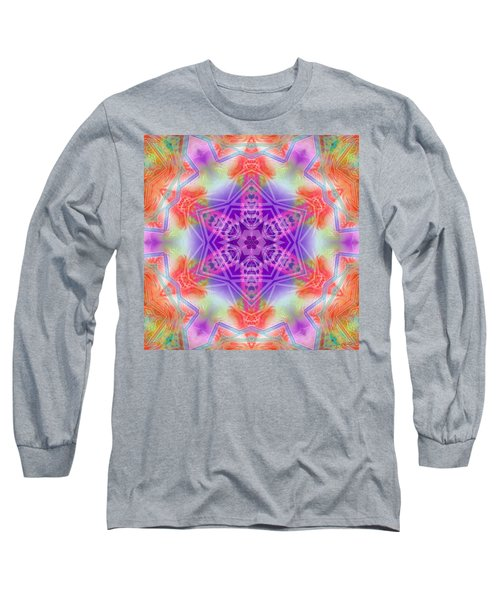 Long Sleeve T-Shirt featuring the digital art Mystic Universe 3 Kk2 by Derek Gedney