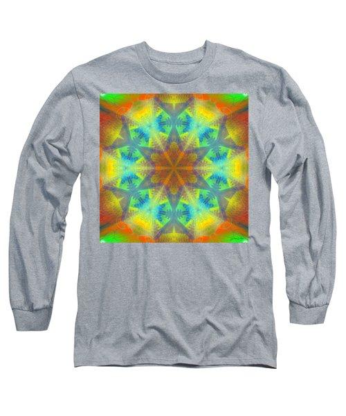 Long Sleeve T-Shirt featuring the digital art Mystic Universe 9 Kk2 by Derek Gedney