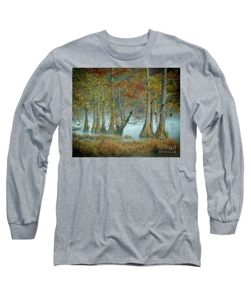 Long Sleeve T-Shirt featuring the photograph Mystical Mist by Iris Greenwell