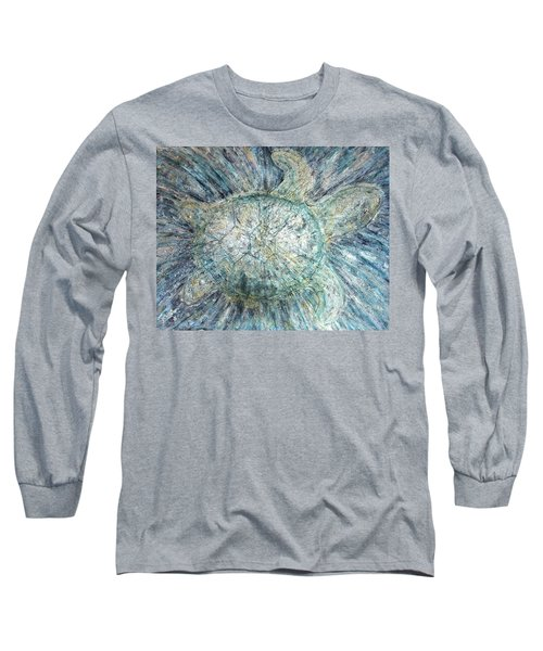 Mystical Sea Turtle Long Sleeve T-Shirt