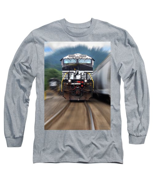 N S 8089 On The Move Long Sleeve T-Shirt