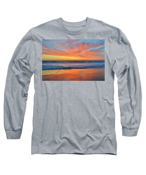 Nags Head Sunrise  Long Sleeve T-Shirt