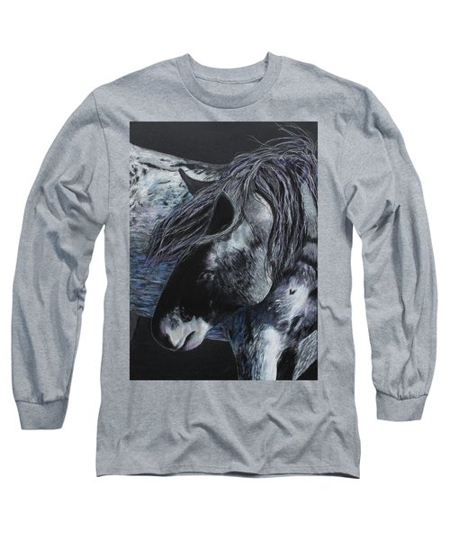 Nahokey Long Sleeve T-Shirt by Jeanne Fischer