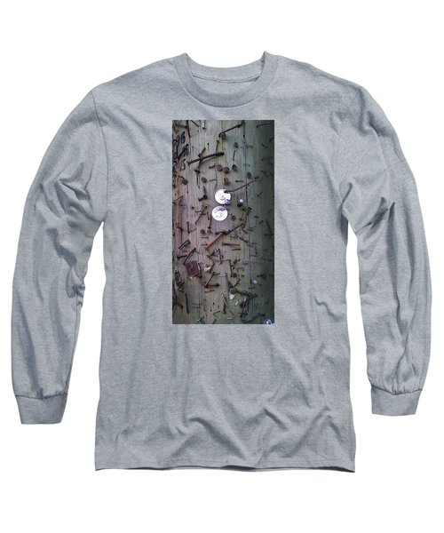 Long Sleeve T-Shirt featuring the photograph Nailed It by Steve Sperry