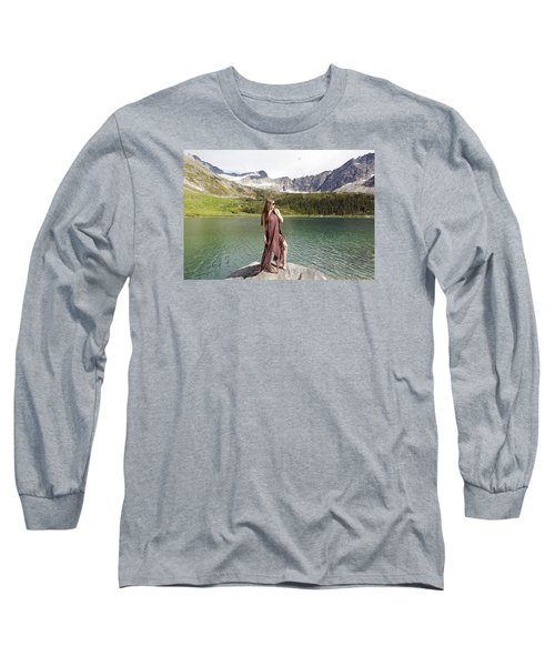 Naked In Alaska Long Sleeve T-Shirt